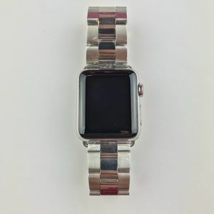 Stainless steel Apple Watch band 38 MM